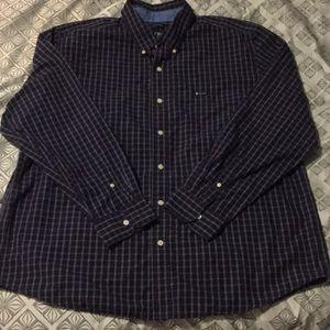 Chaps Men's XXL plaid shirt